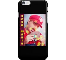 SexyMario - Blowing the Cartridge iPhone Case/Skin
