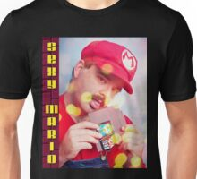 SexyMario - Blowing the Cartridge Unisex T-Shirt