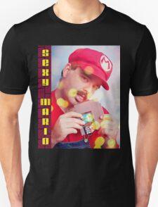 SexyMario - Blowing the Cartridge T-Shirt