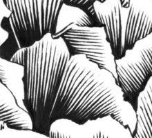Double Petal Tulip - Ink Drawing Sticker
