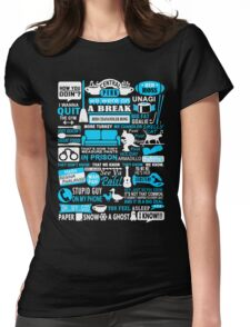 Friends - All in one tshirt  Womens Fitted T-Shirt