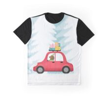 Christmas scene Graphic T-Shirt