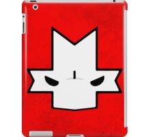 Crasher Knight Face (Red) iPad Case/Skin