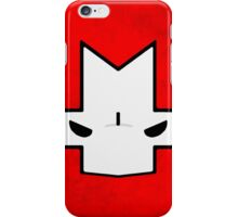 Crasher Knight Face (Red) iPhone Case/Skin