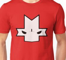 Crasher Knight Face (Red) Unisex T-Shirt