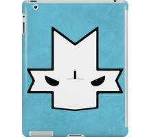 Crasher Knight Face (Blue) iPad Case/Skin