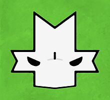 Crasher Knight Face (Green) by Greytel