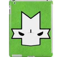 Crasher Knight Face (Green) iPad Case/Skin