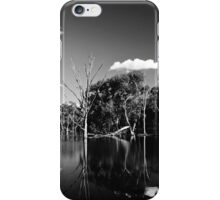 Horseshoe Lagoon B&W iPhone Case/Skin