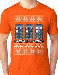Doctor who christmas ugly sweater version Unisex T-Shirt