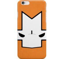 Crasher Knight Face (Orange) iPhone Case/Skin