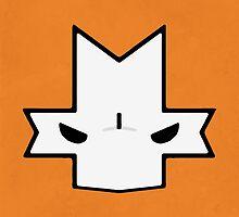 Crasher Knight Face (Orange) by Greytel