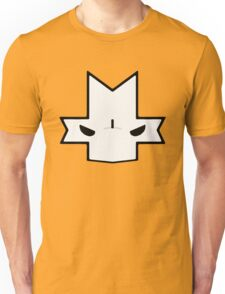 Crasher Knight Face (Orange) Unisex T-Shirt