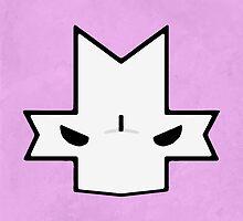 Crasher Knight Face (Pink) by Greytel