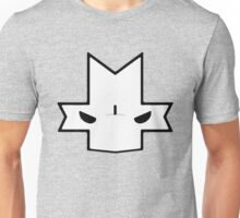 Crasher Knight Face (Grey) Unisex T-Shirt