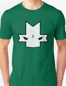 Crasher Knight Face (Green) T-Shirt