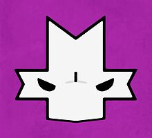 Crasher Knight Face (Purple) by Greytel