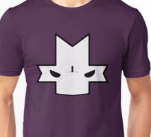 Crasher Knight Face (Purple) Unisex T-Shirt
