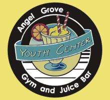Angel Grove Youth Center - Gym & Juice Bar One Piece - Short Sleeve
