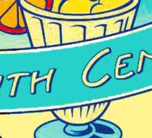 Angel Grove Youth Center - Gym & Juice Bar Sticker