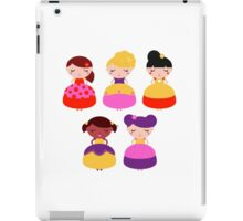 For all princess Lovers : Princess with various Hairstyles iPad Case/Skin