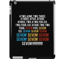 Friends - seven seven seven  iPad Case/Skin