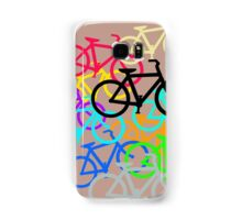Colorful Bicycles. Samsung Galaxy Case/Skin