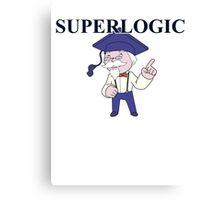 superlogic Canvas Print