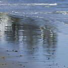Beach Reflections by MaryinMaine