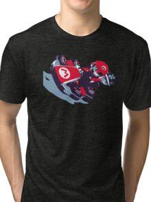 Mario Karting Tri-blend T-Shirt