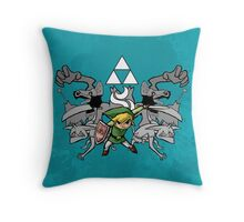 Toon Link Throw Pillow