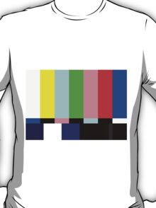 SMPTE TV Testing: Stay Tuned T-Shirt