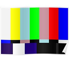 SMPTE TV Testing: Stay Tuned Poster