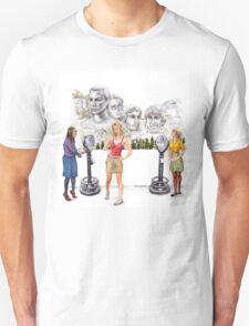 Big Bang Theory Mount Rushmore T-Shirt