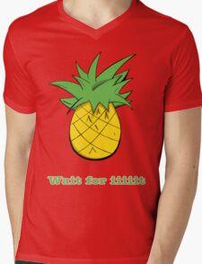 Wait For Iiiiit Mens V-Neck T-Shirt