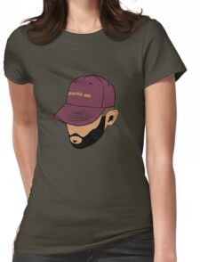 Jon Bellion face beautiful mind Womens Fitted T-Shirt