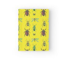 Insect pattern Hardcover Journal