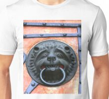 Middle Ages door handle, gate in Germany Unisex T-Shirt