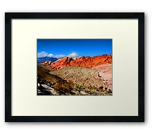 Red Rock Canyon Nevada Framed Print