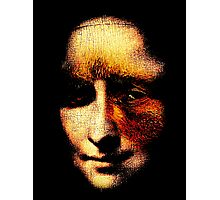 monalisa with eyes that watch the world and can't forget Photographic Print