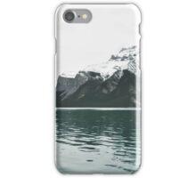 lake minnewanka iPhone Case/Skin