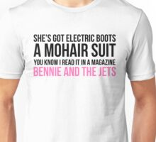 """""""Bennie and the Jets"""" by Elton John Unisex T-Shirt"""