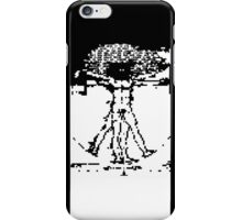 invasion of the vitruvian snatchers iPhone Case/Skin