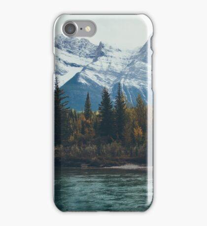 mountain river iPhone Case/Skin