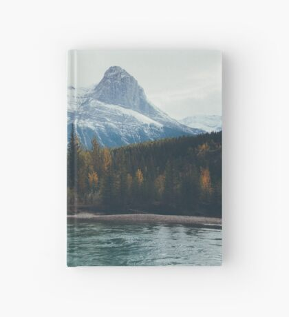 mountain river Hardcover Journal