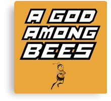 "Barry B. Benson ""God Among Bees"" Canvas Print"