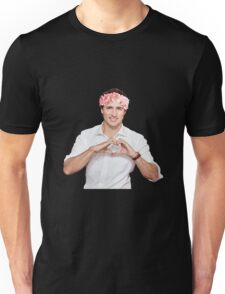 Justin Trudeau Flower Crown Unisex T-Shirt