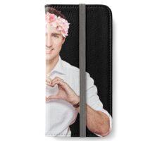 Justin Trudeau Flower Crown iPhone Wallet/Case/Skin