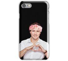 Justin Trudeau Flower Crown iPhone Case/Skin