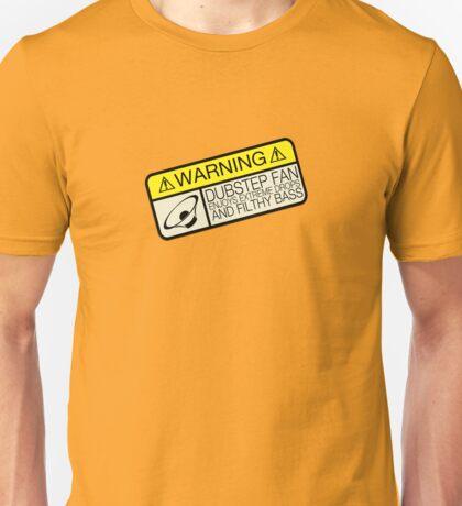 Dubstep Warning Unisex T-Shirt